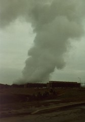 Steam From Cooling Towers At Wansley (grogley) Tags: georgia bell labs 1986 att fso loson belllaboratories wansleypowerplant freespaceoptics