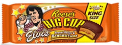 Reese's Elvis Cup with Peanut Butter and Banana Creme