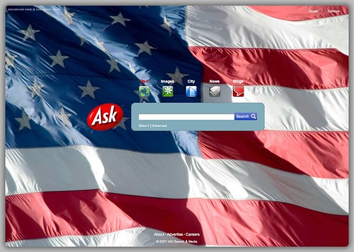 Ask.com July 4th