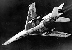 Tupolev Tu-22 intercepted by danish F-104G (dehavillandflyer) Tags: balticsea soviet ussr blinder interception tu22 rdaf tupelov