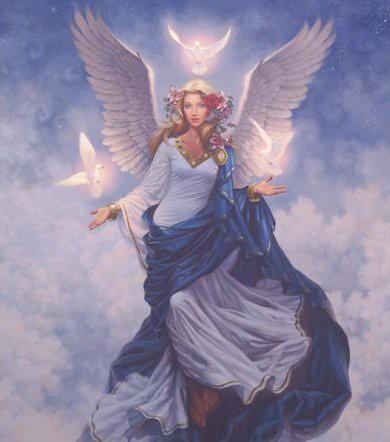 Belleza de un ángel