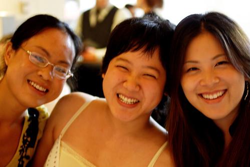 Tina, me and Helen