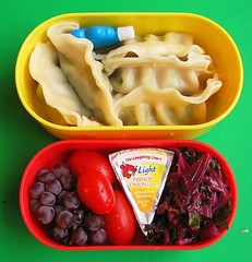 Potsticker lunch for preschooler