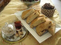 Sesame Seed & Saffron Bread