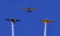 Vintage Airplanes (Thad Roan - Bridgepix) Tags: old blue sky vintage colorado aircraft airplanes navy parade planes warbirds flyover flyby littleton 200808 westernwelcomeweek
