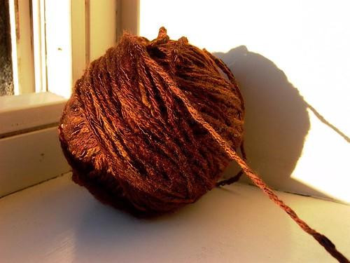 brown mystery yarn
