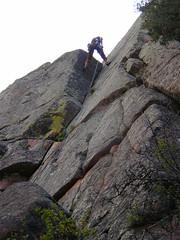 Ann descending South Corner