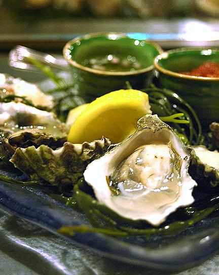 Bar Crudo Kumamoto Oysters