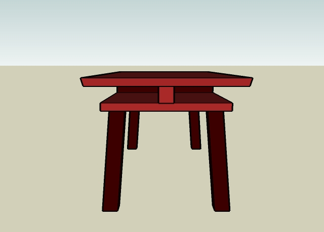 Torii Table End