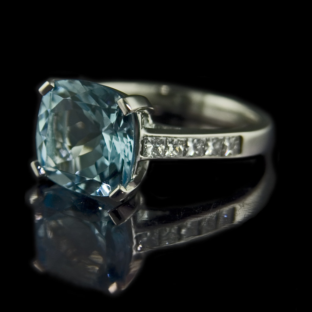 Aquamarine Engagement Rings Meaning Aquamarine Engagement Ring