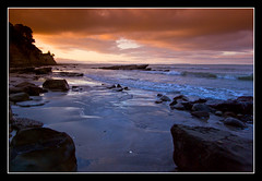 Winscombe Cove (Light Knight) Tags: sunset newzealand beach pentax auckland redsky blueribbonwinner k10d worldbest superbmasterpiece ysplix platinumheartaward excapture diamondexcapture