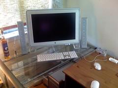 IMG_0449 (skemez1) Tags: desktop cinema apple computer keyboard display lansing g5 powermac altec speakers