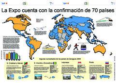 La Expo cuenta con 70 paises confirmados - Eloy Liceran - 57x40cm (sergio m. mahugo) Tags: graphics graphic infographic infographics infografia egaleradas curso0607