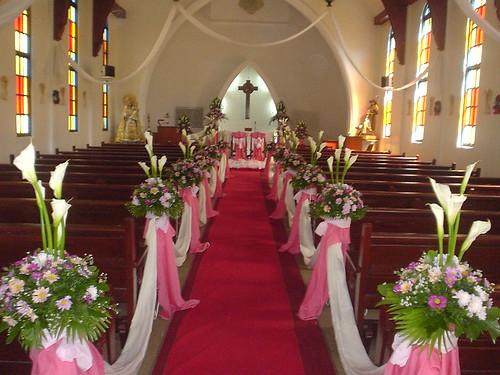 Church Wedding Flower Arrangement Philippines