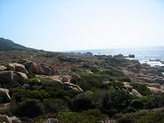 Côte rocheuse NW du Capu di Zivia