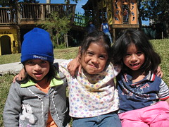 three little girls (justsmartdesign) Tags: uw architecture landscape design guatemala build 2009 safepassage img4846 caminoseguro