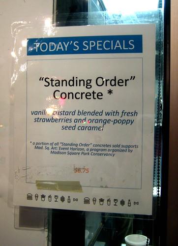 Standing Order Custard