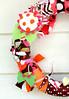 fabric rag wreaths RagHearth (5) (heatherknitz) Tags: wreath walldecor wallhanging feltflowers buttonflowers buttonwreath ragwreath fabricwreath decorativewreath doorwreaths fabricragwreath raghearth 10inchwreath