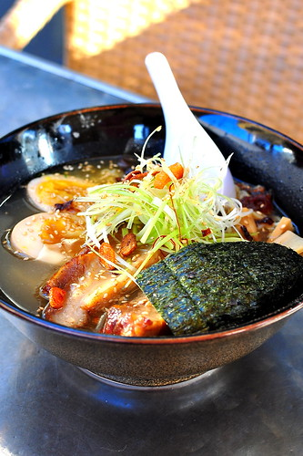 Yatai Ramen Twist at Bread Bar - Los Angeles