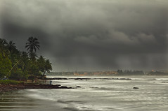 Let it Rain !  Goa in Monsoon. (Anoop Negi) Tags: life city sea portrait sky india storm beach water rain weather clouds river season photography for photo tv media day image photos nimbus delhi indian bangalore towers goa creative cellphone environmental images best cricket rainy monsoon po mast arabian mumbai anoop rains panjim mandovi negi panaji betim photosof ezee123 bestphotographer imagesof anoopnegi regionwide jjournalism