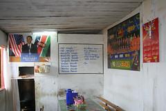 They love Obama in Africa (3) (Karin.Lakeman) Tags: africa restaurant african afrika obama afrikaans gabon barackobama barack obamania mitzic