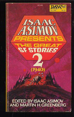 The Great Science Fiction Stories vol 2 cover