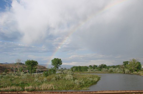 Rainbow over the Colorado River