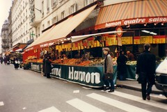 Marknad i Paris