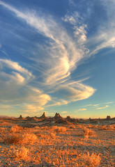 She runs through the sky (sandy.redding) Tags: california clouds landscape desert tufa hdr tronapinnacles nikkor1855mmf3556g anawesomeshot shotwithmikebyrne portraitorientedlandscape