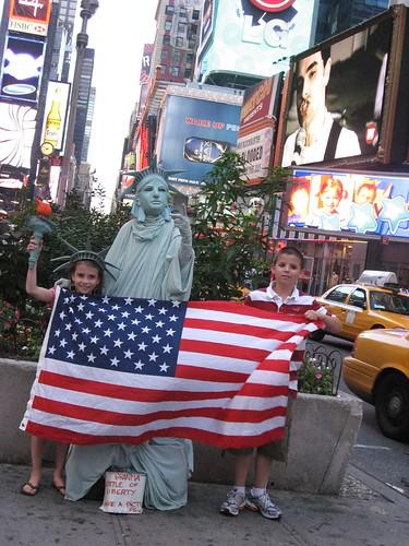 Time Square Scene