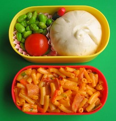 Pork bun lunch for toddler