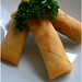 Honey-Garlic Spring Rolls
