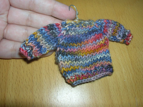 Miniature Sweater 2