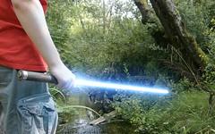 Saber Creek. (Max Kantola) Tags: water creek star george lucas fi wars sci