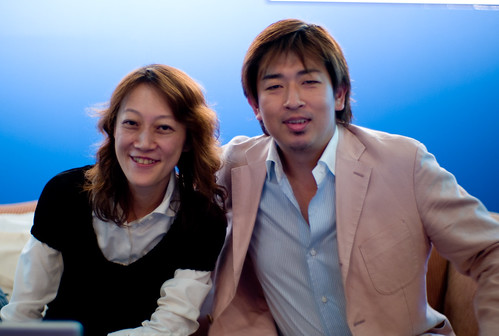Yumi and Takeshi
