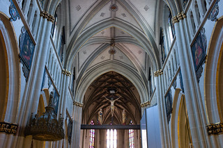 inside the st-nicolas cathedral #2 @ fribourg suisse