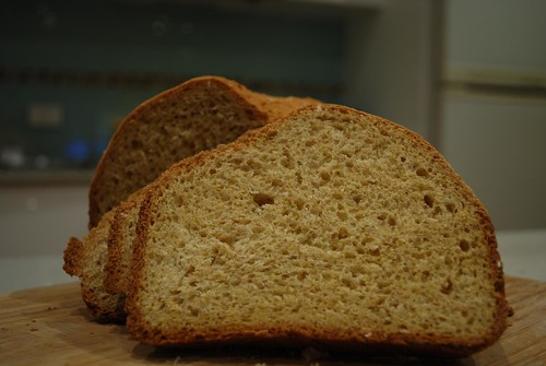 Sliced - Julia's Whole Wheat, Oats, Polenta Bread