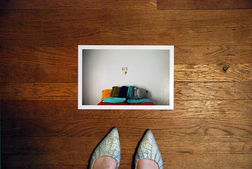 Get Up 8x12 print