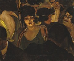 Christian Schad,  Caf d'Italia, 1921 (kraftgenie) Tags: bar germany weimar schad