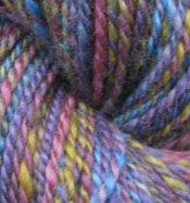 "4.3 oz 2 ply Hand Spun Worsted Yarn 100% BFL Wool ""Strength"""