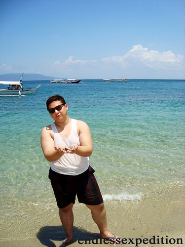 Me at White Beach