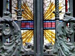 Vitral II (Jorgelixious) Tags: glass cemetery general cementerio coolpix fujifilm vitral vitraux s5600