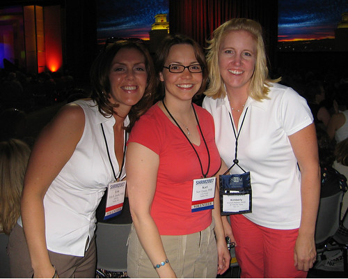 Erin, Kari and Kim at the 2007 Annual SHRM Conference