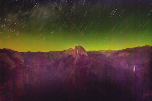 Half Dome by Starlight 2