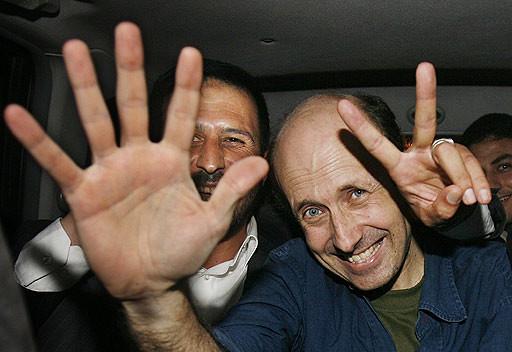 BBCs Alan Johnston freed by nalindes