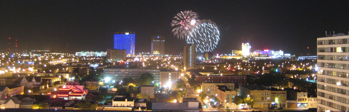 Atlantic City Fireworks