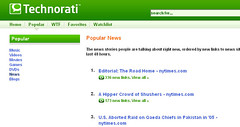 Shusher Article #2 in Technorati News