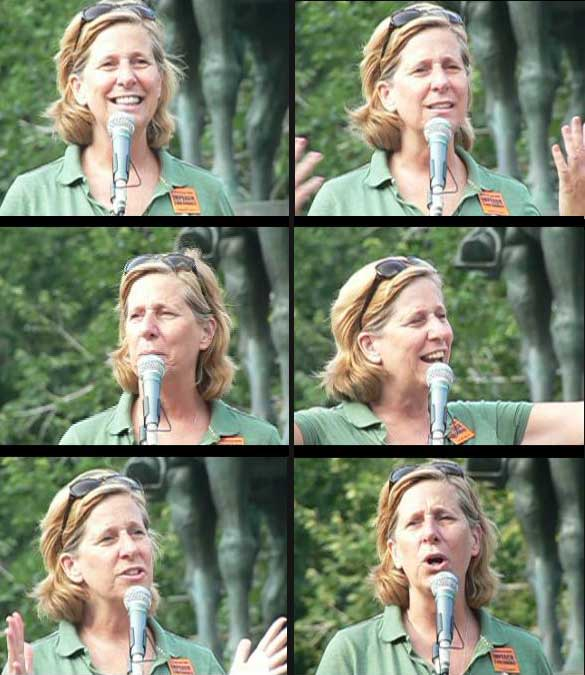 Cindy Sheehan - Union Sq.