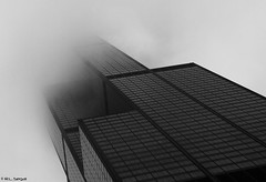 Sears Tower in Fog (rjseg1) Tags: chicago tower fog architecture skyscraper sears wacker segal pentaxk10d