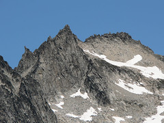 Dragontail, as seen from the summit of Devils Head (Pt. 6666) 7.29.07.
